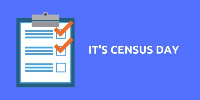 Census Day Survey Infographic