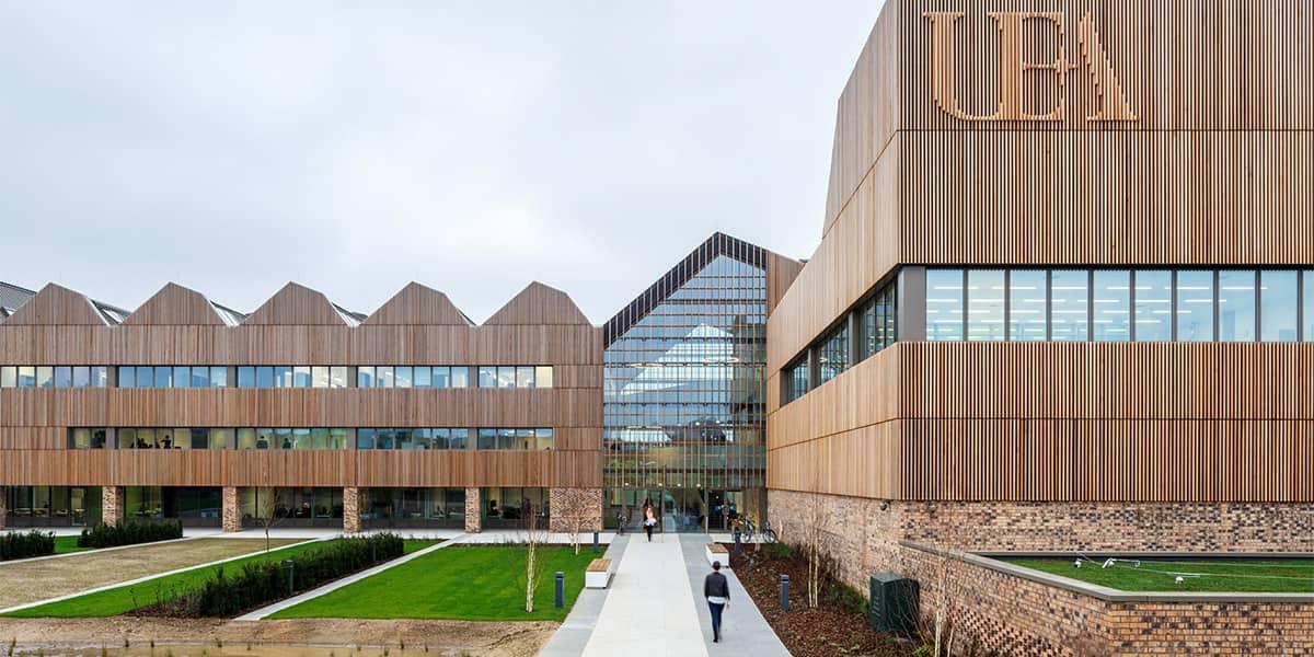 UEA University Norwich Exterior