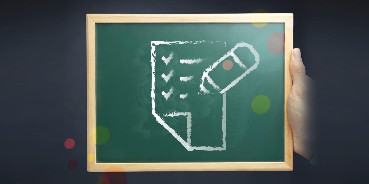 Millenial Survey Chalkboard