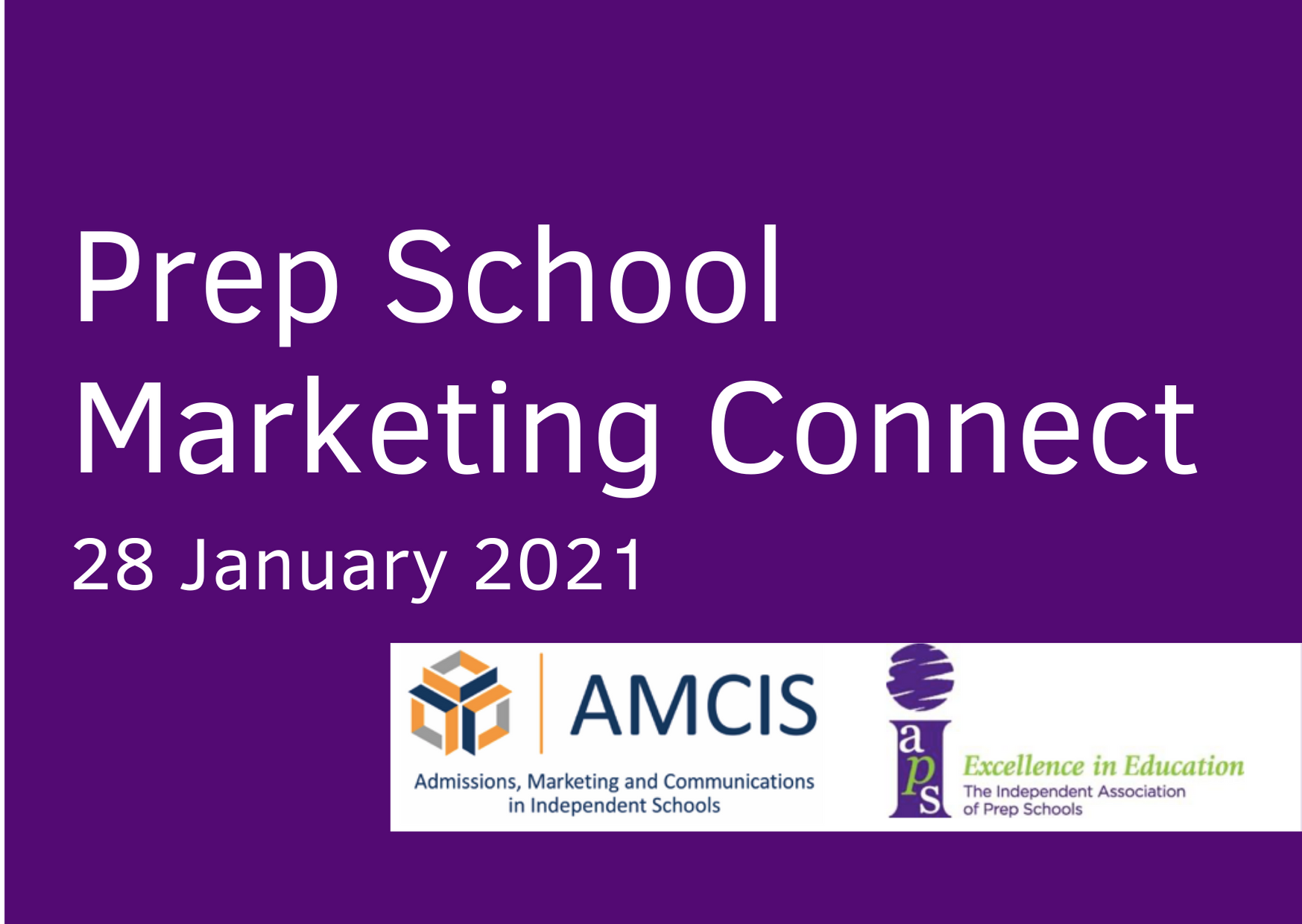 Prep School Marketing Connect